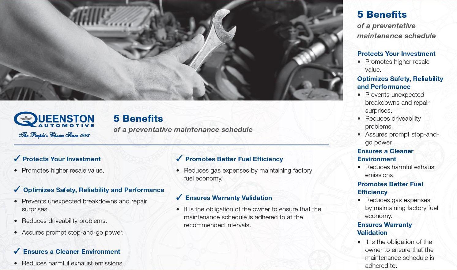 5_Benefits_of_Preventative_Maintenance_Schedule
